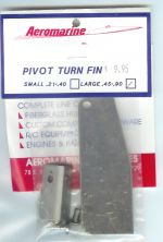 TURN FIN, Aeromarine large st/steel